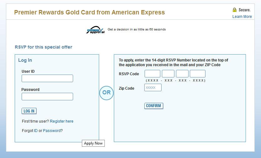 50000 Rewards Points Premier Rewards Gold Card American Express