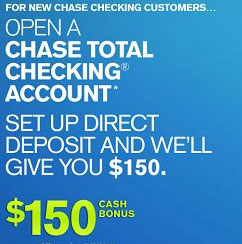 "For all of the Chase Checking bonus offers, you cannot be an existing Chase checking customer, have a fiduciary account, or have a Chase checking account closed within 90 days or closed with a negative balance. So, you must wait at least 90 days after closing a Chase checking account to meet the ""new customer"" qualification."