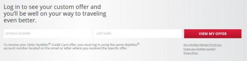 www.deltaamexcard.com Bonus Delta Skymiles American express offer