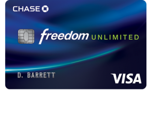 getfreedomunlimited.com Chase Freedom Unlimited Card