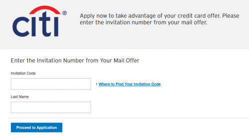 Citi.com AAmileupcardapply Invitation Mail Offer